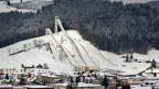 Die Skisprungschanze in Einsiedeln im Kanton Schwyz ist in die Jahre gekommen. Archivbild von 2011.