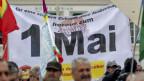 Tag der Arbeit: Demonstrationszug in Basel. Archivbild von 2018.