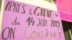 Frauenstreik am 14. Juni 2019. In Biel laufen bereits die Vorbereitungen.