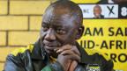 Der aktuelle Präsident Cyril Ramaphosa vom ANC dürfte auch der neue sein.