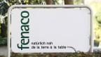 Das Logo des Agrarkonzerns Fenaco mit Sitz in Bern.