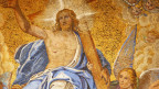 Christi Himmelfahrt im Markus-Dom in Venedig.