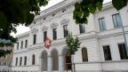 Das Bundesstrafgericht in Bellinzona.