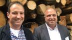 Rolf Manser (links) und Markus Brunner.