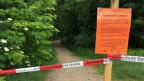 Der Hardwald ist seit letzter Woche teilweise gesperrt.