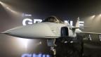 Der Gripen-Kampfjet der Firma Saab, welcher definitiv nicht von der Schweizer Armee angschafft wird.