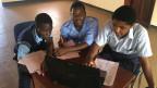 Schüler der Zipatso Academy in Salima, Malawi. Verein Bildungsprojekt Martin Schär.