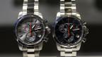 Symbolbild. Uhren der Marke Certina, welche an der Baselworld ausgestellt wurden.