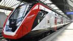 Fernverkehrs-Doppelstockzug FV-Dosto im Zürcher Hauptbahnhof. Aufnahme vom 1. Mai 2019.