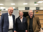 Hugo Schittenhelm, Daniele Piazza, Hans Kaufmann (von links)