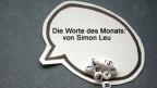 Die Worte des Monats November von Simon Leu.