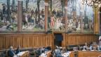 Der Ständeratssaal im Bundeshaus in Bern.