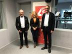 Carlo Schmid, Claudia Wirz, Peter Bertschi (von links)