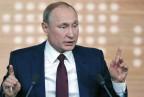 Die grosse Show von Wladimir Putin.