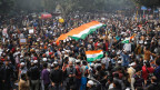 Indien - Proteste trotz Demonstrationsverbot.