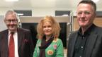 Hans Kaufmann, Claudia Wirz, Thomas Meier (v. l. n. r.)