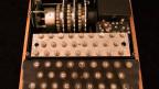 Symbolbild. Eine Enigma-Maschine, die im zweiten Weltkrieg verwendet wurde.