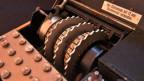 Eine Enigma-Maschine, die im zweiten Weltkrieg verwendet wurde.