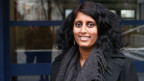 Sharmila Egger vom Verein Zischtig Punkt CH. Sie ist Psychologin und Medienpädagogin.
