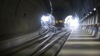 Der NEAT-Tunnel bei Ceneri im Tessin.