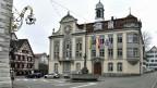 Grossrat-Gebäude des Kantons Thurgau im Rathaus Weinfelden.