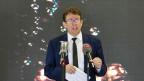Albert Rösti, Parteipräsident SVP an einer Medienorientierung. Die Suche nach einer Nachfolgerin oder einem Nachfolger gestaltet sich schwierig.
