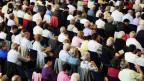 Kongress der Zeugen Jehovas im Zürcher Hallenstadion. Archivbild vom Juli 2010.