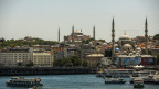 Die Moschee Hagia Sophia.