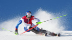 Am Sonntag, 27. Oktober 2013, beginnt in Sölden, Österreich, die neue Ski-Alpin-Saison. Im Bild: Der Schweizer Justin Murisier, während eines Trainings am 23. Juli 2013 in Zermatt.
