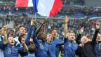 Doch noch an die WM: Jubelnde Franzosen.