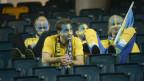 Schwedische Fans nach dem WM-Aus.