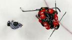 Auch dank den gemischten Mannschaften im Juniorenalter hat sich das Frauen-Eishockey entwickelt. Mädchen trainieren - zumindest bei den Junioren - im gleichen Tempo wie die Knaben. Bild: Schweizer Frauen in Sotschi 2014.