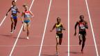 Die kenianische Läuferin Joyce Zakary - ganz rechts im Bild - ist in Peking positiv auf eine verbotene Substanz getestet worden – und wurde daraufhin von den Wettkämpfen suspendiert.