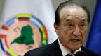 Der ehemalige Vizepräsident des südamerikanischen Fussballverbands, Eugenio Figueredo.