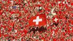 Schweizer Fans an der WM 2006 in Deutschland am Spiel gegen Frankreich.