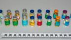 Anlässlich einer Grossaktion im Frühjahr 2015 in fünf Kantonen wurden grosse Mengen Dopingsubstanzen sichergestellt.