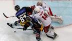 Für Eishockey-Fans ist momentan die schönste Zeit des Jahres: Saisonhöhepunkt mit den Playoffs. Für die Eishockey-Spieler vermutlich auch die schönste Zeit des Jahres, gleichzeitig aber auch die härteste. Duell beim Spiel Bern gegen Lausanne am 10. März.