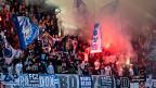 Die Idee der Swiss Football League: Fans filmen und die Videos der Polizei abliefern, wenn es knallt.