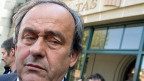 Michel Platini am 29. April 2016 vor dem Sportgericht CAS in Lausanne.