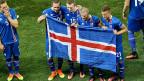 Amateurhaftigkeit und Leidenschaft führten zum Sieg: Spieler der isländischen Nationalmannschaft.