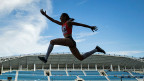 Die russische Weitspringerin Ekaterina Koneva ist eine der Sportlerinnen, deren Einspruch gegen die Olympia-Sperre abgewiesen wurde.