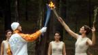 Zurück am Ursprung: Szene von den olympischen Spiele Athen 2004