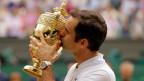 Roger Federer, Tennisspieler.