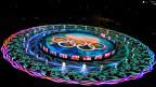 Schlussfeier der olympischen Winterspiele in Pyeongchang.