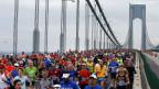 Eine der grössten Laufveranstaltungen:New York Marathon
