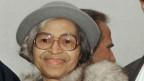 Pionierin der US-Bürgerrechtsbewegung: Rosa Parks.
