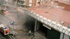 """Das Einkaufszentrum """"Hipercor"""" nach der Detonation."""