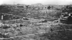 Nichts als Zerstörung: Die Atombombe machte Hiroshima praktisch dem Erdboden gleich