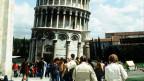 Ganz schön schief: der Turm von Pisa