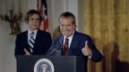 US-Präsident Nixon, das Ziel des Mordanschlags von Byck